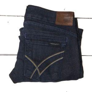 William Rast dark wash flare leg jeans size 26